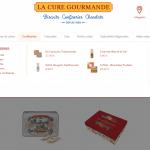Site La Cure Gourmande